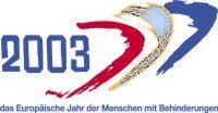Logo Europäisches Jahr der Menschen mit Behinderungen 2003
