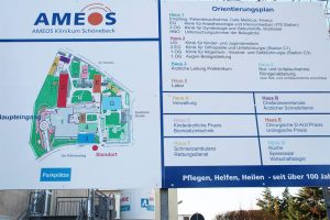Beispiel des AMEOS – Klinikums